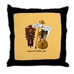 mrfiddlewear Throw Pillow