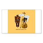 mrfiddlewear Sticker (Rectangle 50 pk)