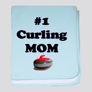 #1 Curling Mom baby blanket