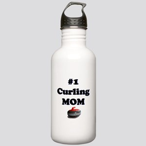 #1 Curling Mom Stainless Water Bottle 1.0L