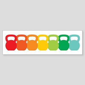 Kettlebell Spectrum Sticker (Bumper)