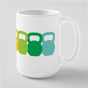 Kettlebell Spectrum Large Mug