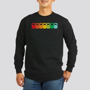 Kettlebell Spectrum Long Sleeve Dark T-Shirt