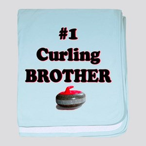 #1 Curling Brother baby blanket