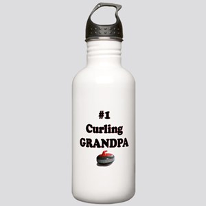 #1 Curling Grandpa Stainless Water Bottle 1.0L