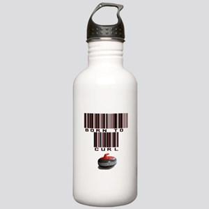 Born to Curl Stainless Water Bottle 1.0L
