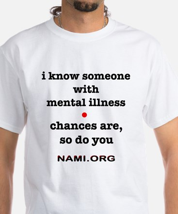Help for Mental Health White T-Shirt