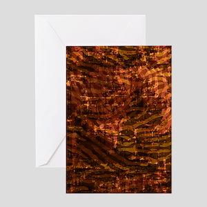 Batik Jewels - Topaz Greeting Card
