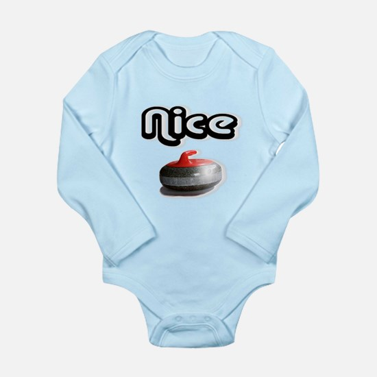 Nice Rock Long Sleeve Infant Bodysuit