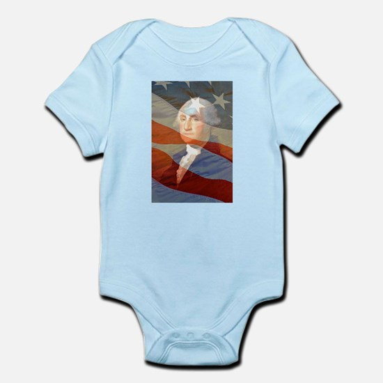 Life, liberty and the.... Infant Bodysuit