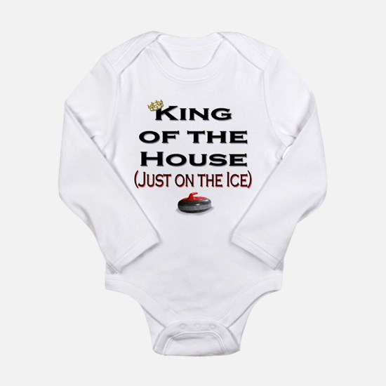 King of the House Long Sleeve Infant Bodysuit