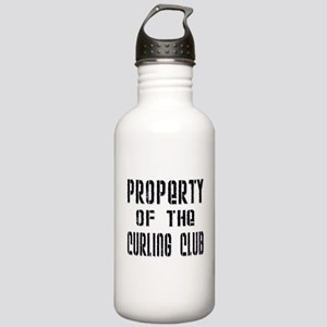 Property of the Curling Club Stainless Water Bottl