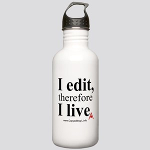 """I edit"" CE-Lery stainless water bottle"
