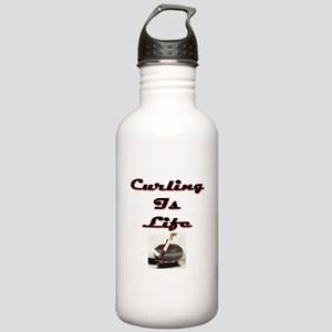 Curling is Life Stainless Water Bottle 1.0L