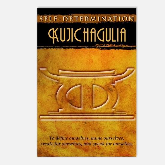 Kwanzaa Principles: Kujichagulia Postcards (Packag