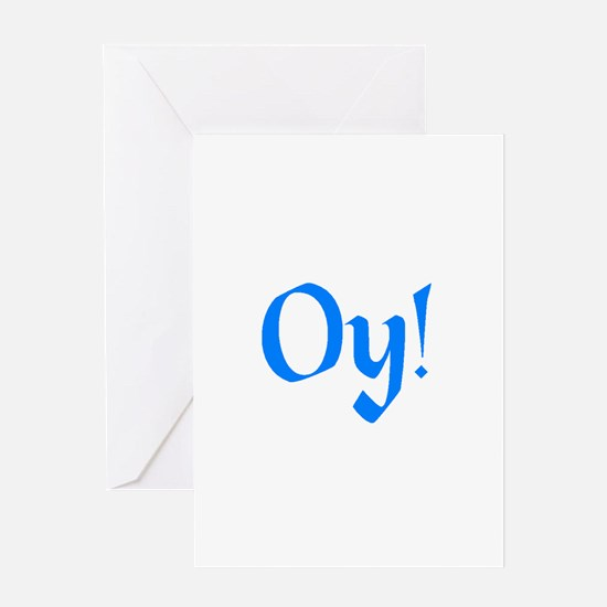oy vey Greeting Card