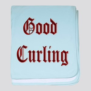 Good Curling baby blanket