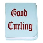 Good Curling baby blanket