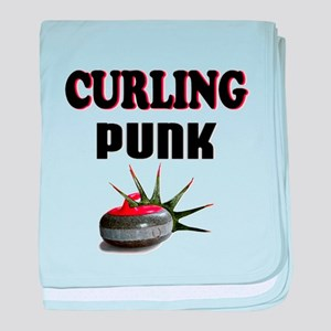 Curling Punk baby blanket