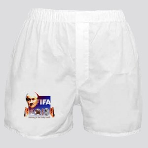 World Cup 2018 Rusky Rouble Boxer Shorts