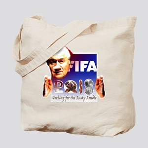 World Cup 2018 Rusky Rouble Tote Bag