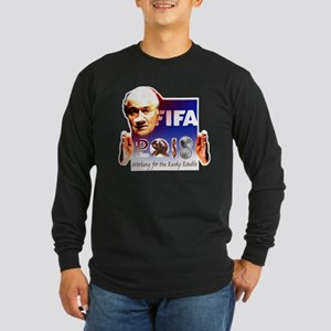 World Cup 2018 Rusky Rouble Long Sleeve Dark T-Shi