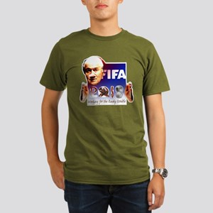 World Cup 2018 Rusky Rouble Organic Men's T-Shirt