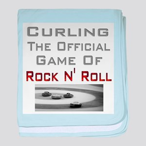 Curling-The Official Game Of baby blanket