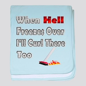When Hell Freezes Over... baby blanket