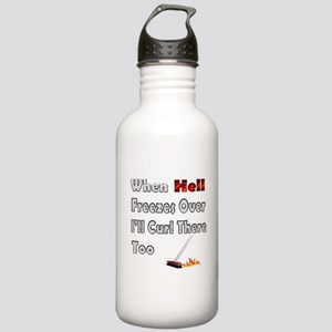 When Hell Freezes Over... Stainless Water Bottle 1