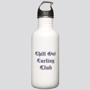 Chill Out Curling Club Stainless Water Bottle 1.0L