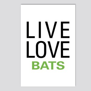 Live Love Bats Postcards (Package of 8)