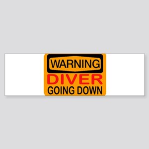 GOING DOWN Sticker (Bumper)