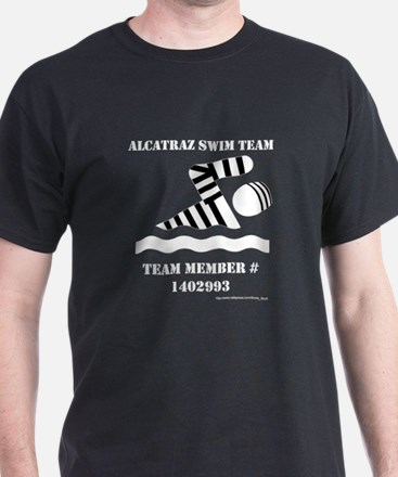 Alcatraz Swim Team T-Shirt