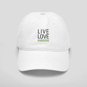 Live Love Baboons Cap