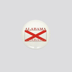 Alabama State Flag Mini Button