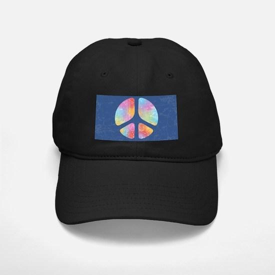 Cut-Out Peace IV Baseball Hat