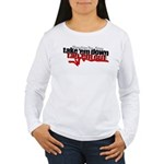 Take em down Tap em out Women's Long Sleeve T-Shir