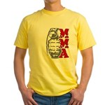 MMA Grenade Yellow T-Shirt