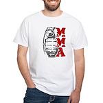 MMA Grenade White T-Shirt