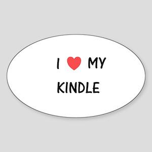 Kindle Sticker (Oval)