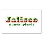 Jalisco Nunca Pierde Sticker (Rectangle 10 pk)