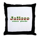 Jalisco Nunca Pierde Throw Pillow