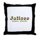 Jalisco Nunca Pierde Throw Pillow