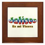 Jalisco es mi Tierra Framed Tile