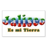 Jalisco es mi Tierra Sticker (Rectangle)