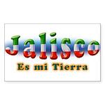 Jalisco es mi Tierra Sticker (Rectangle 10 pk)