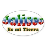 Jalisco es mi Tierra Sticker (Oval 10 pk)