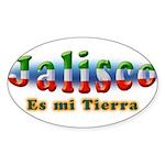 Jalisco es mi Tierra Sticker (Oval 50 pk)