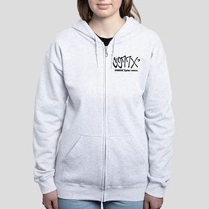 CO77X Tag Women's Zip Hoodie